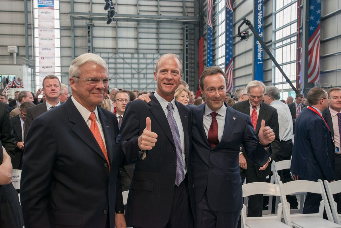 U.S. Manufacturing Facility inauguration_McArtor Enders and Brégier