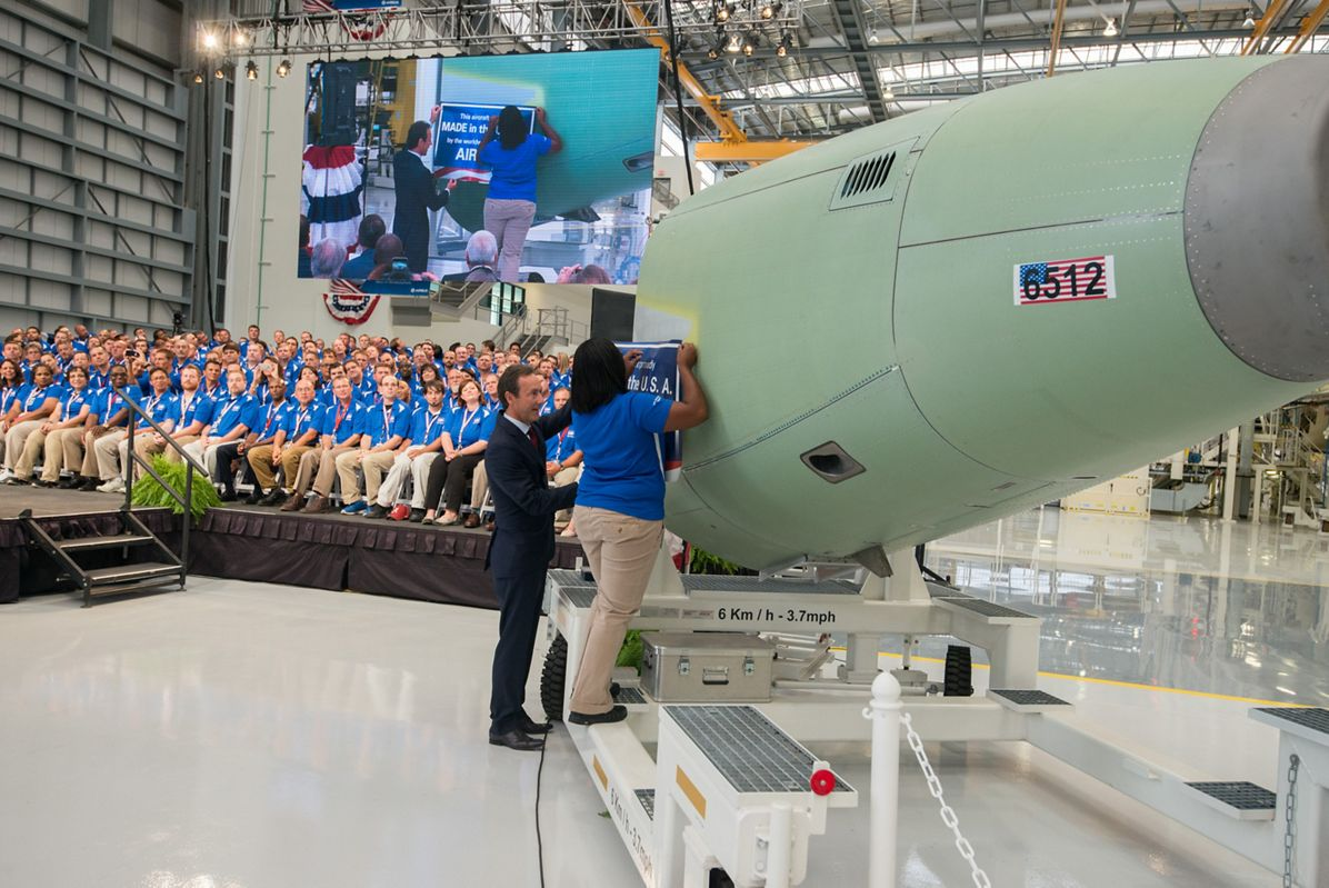 U.S. Manufacturing Facility inauguration_Placard 1
