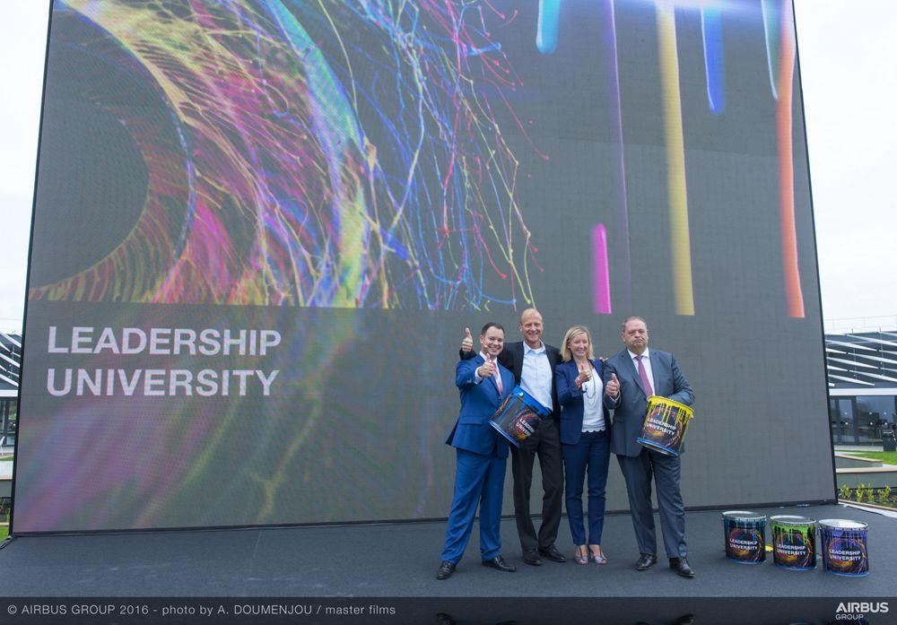 Airbus Leadership University opening ceremony