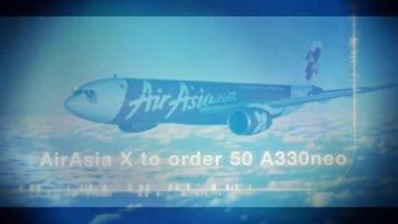 Airasia X提交50 A330NEO