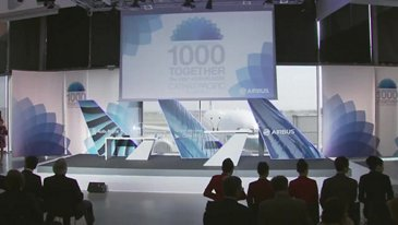 1,000 together: Airbus' milestone A330