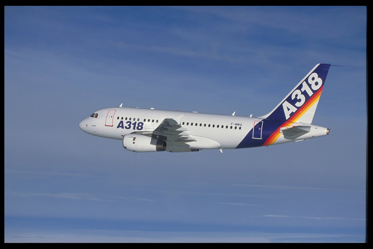 A318  Airbus first flight