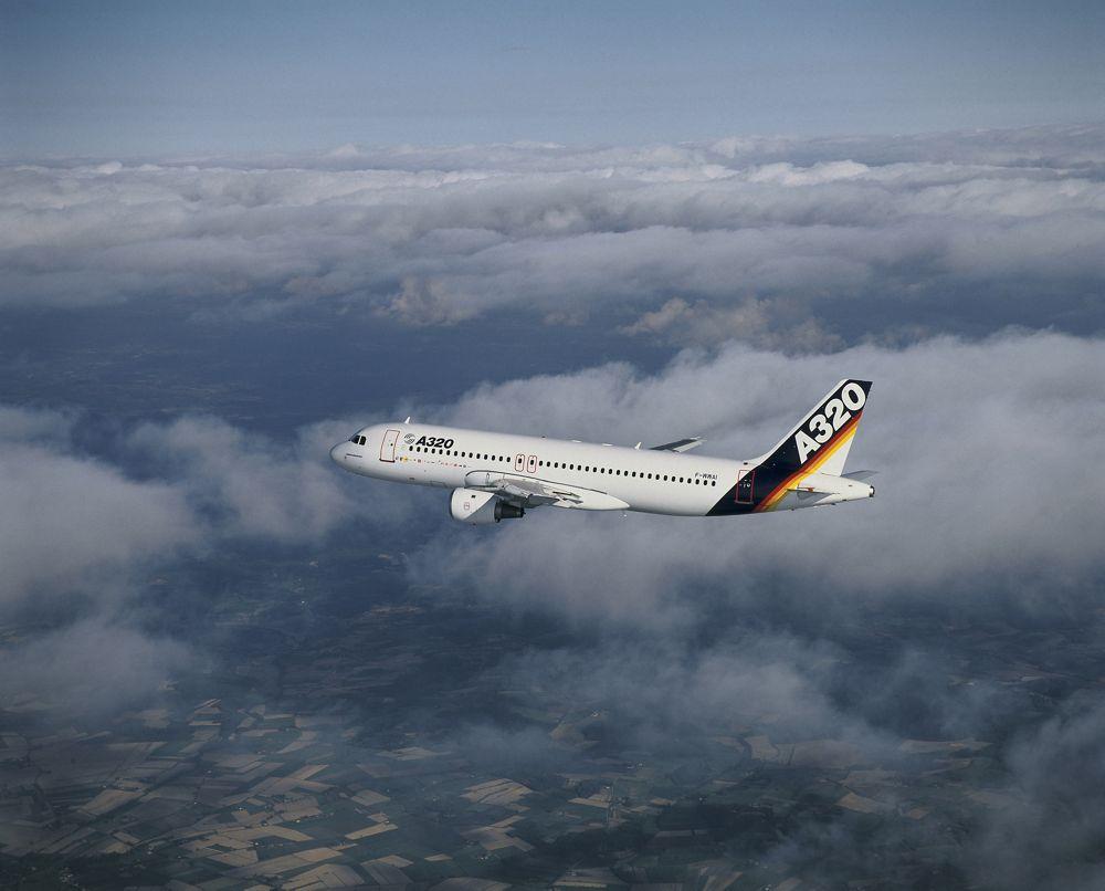 A320  Airbus 1st flight