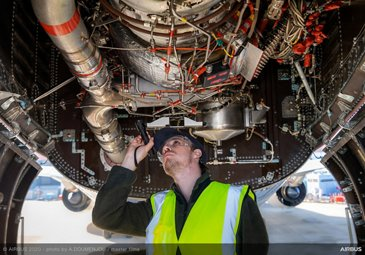 Airbus Services Inspection Copyright Airbus