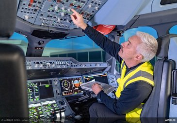 Airbus Services Cockpit Maintenance Copyright Airbus