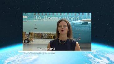 Carrie Harris Head of Sustainability British Airways