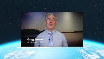 Greg Foran CEO Air New Zealand