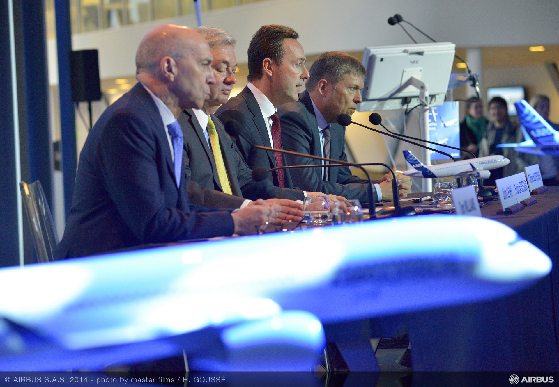Key 2013 achievements highlighted during Airbus' year-opening press conference included its maiden flight of the A350 XWB, which is targeted for certification during the third quarter of 2014
