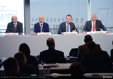 Airbus 2015 annual press conference_Management team 1