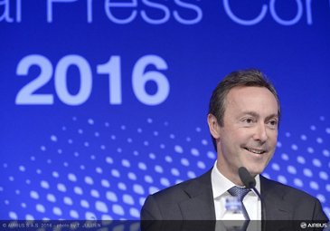 2016 Airbus Annual Press Conference Bregier