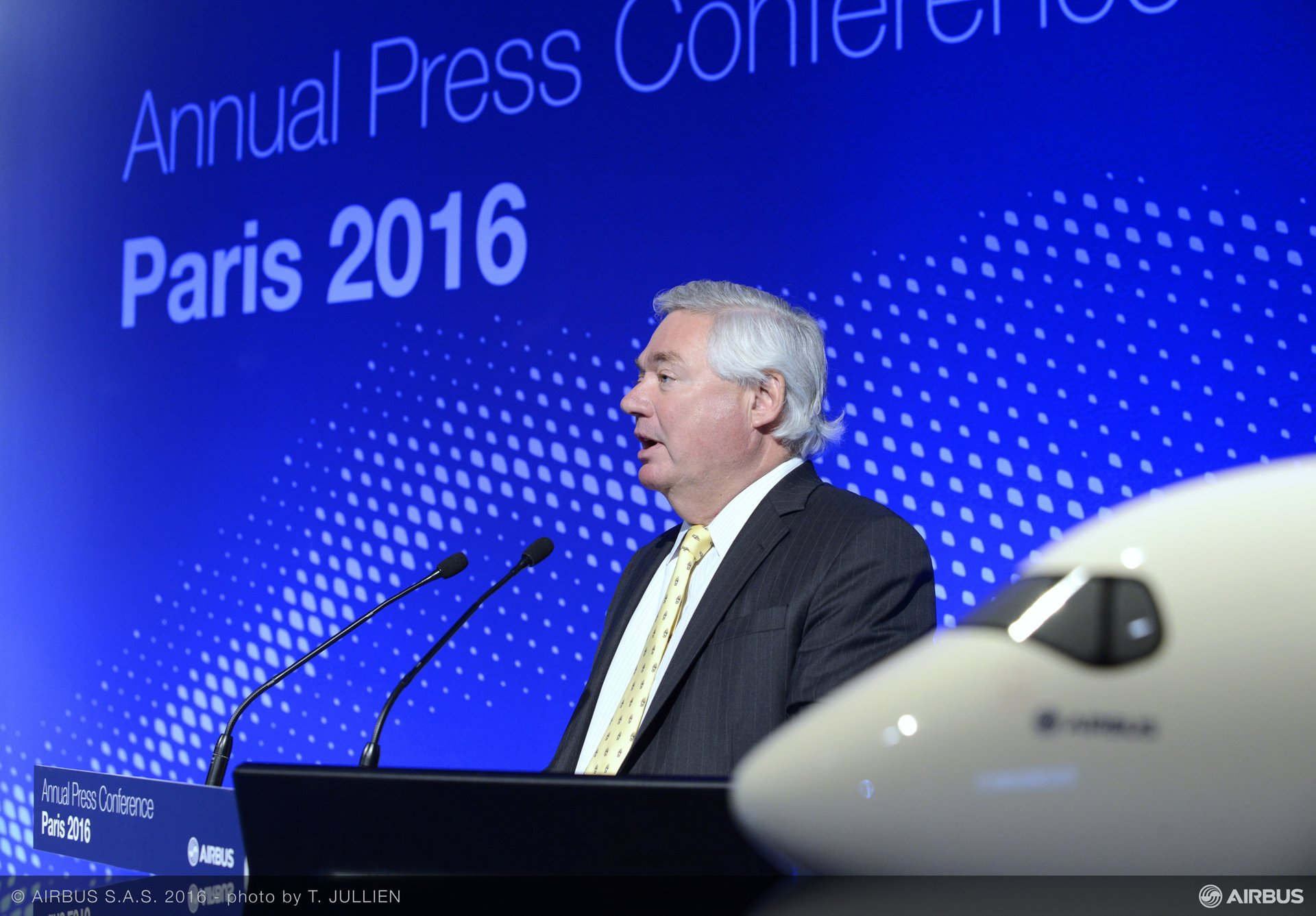 2016 Airbus annual press conference Leahy
