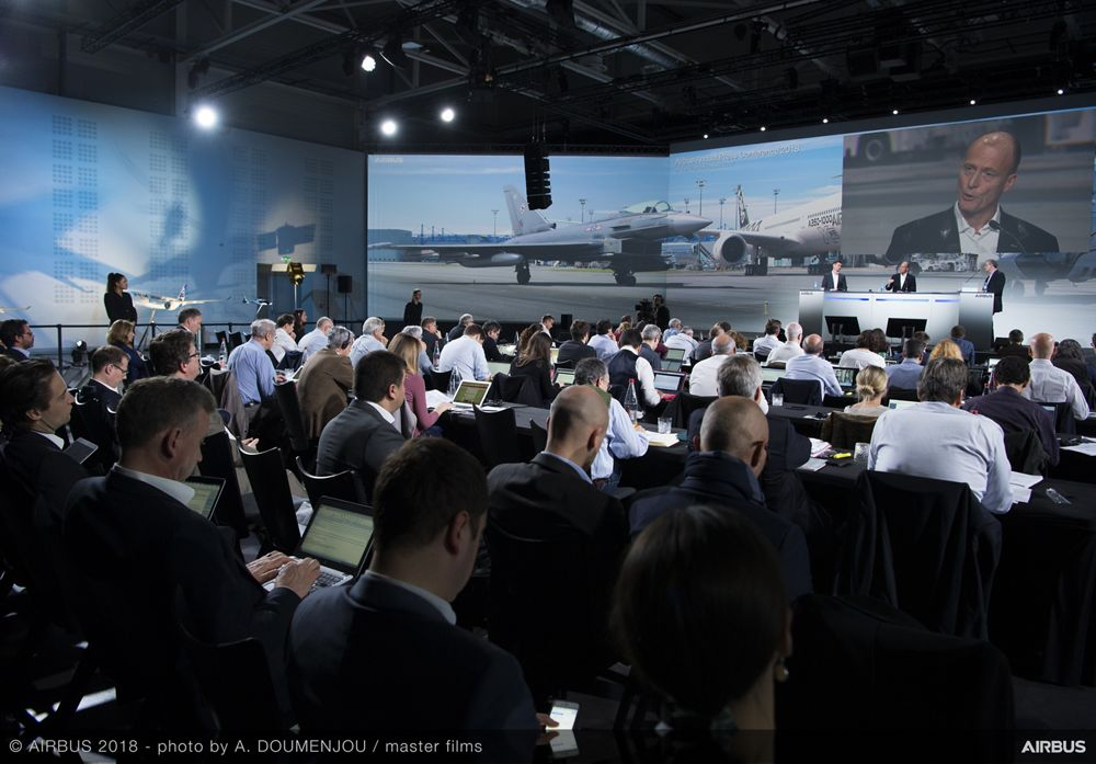 Airbus Annual Press Conference 2018