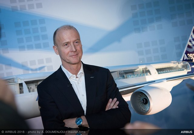 Tom Enders, Chief Executive Officer of Airbus
