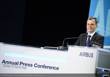Airbus Results 2020 - Dominik Asam speaking