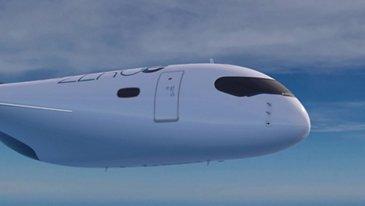 Zeroe概念飞机:混纺 - 翼身体