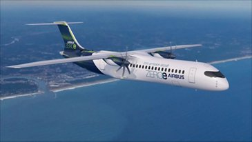 ZEROe concept aircraft: Turboprop