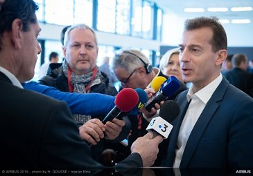 Annual Press Conference 2019 - Guillaume Faury interviewed