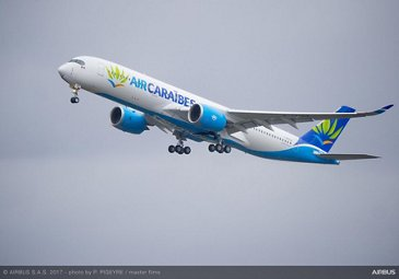 Air Caraïbes Takes Delivery Of Its First A350 900