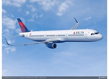 Delta Orders 30 Additional A321s