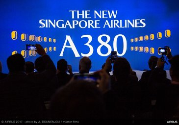 New Singapore Airlines A380 Delivery Ceremony