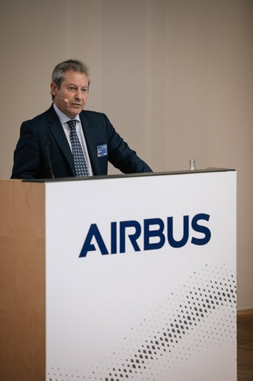 TMB 2019 Day 2. Alberto Gutierrez Head of Military Aircraft and Head of Airbus Spain