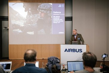 TMB 2019 - Day 3. Evert Dudok Executive Vice President Communications, Intelligence and Security - Airbus Defence and Space
