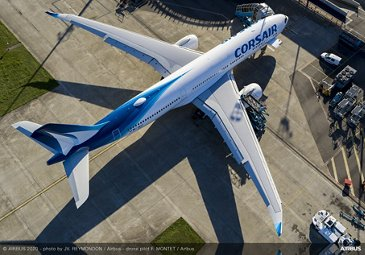 A330neo Corsair On Ground