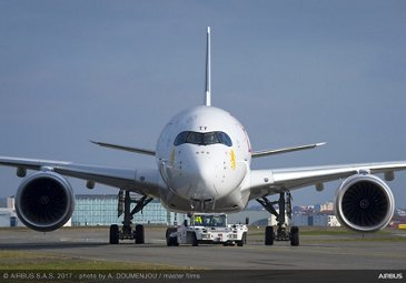 A350-900 Ethiopian Airlines Front View