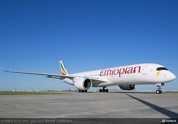 A350-900 Ethiopian Airlines On Ground