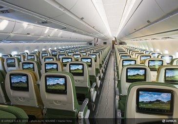 Cabin Interior A350-900 Ethiopian Airlines Economy Class
