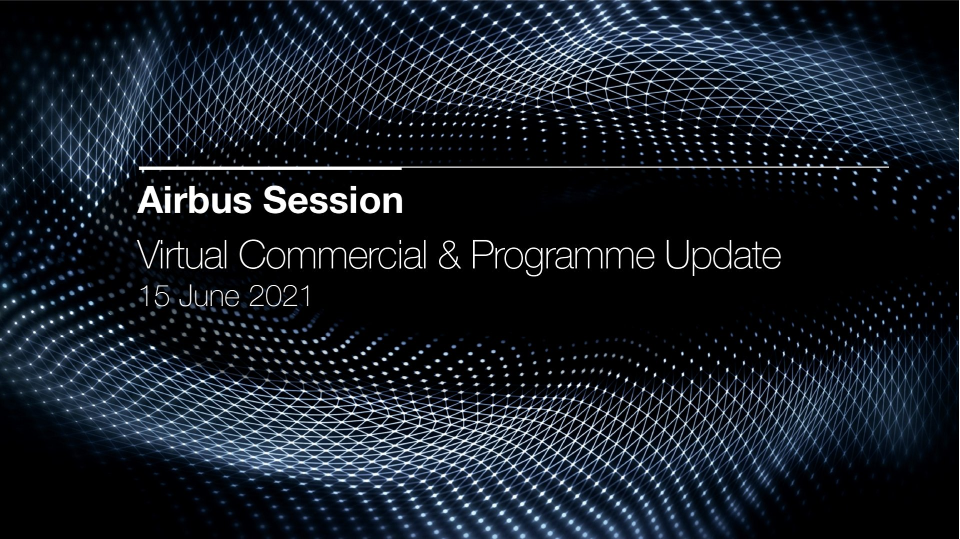 Virtual Commercial Update 2021