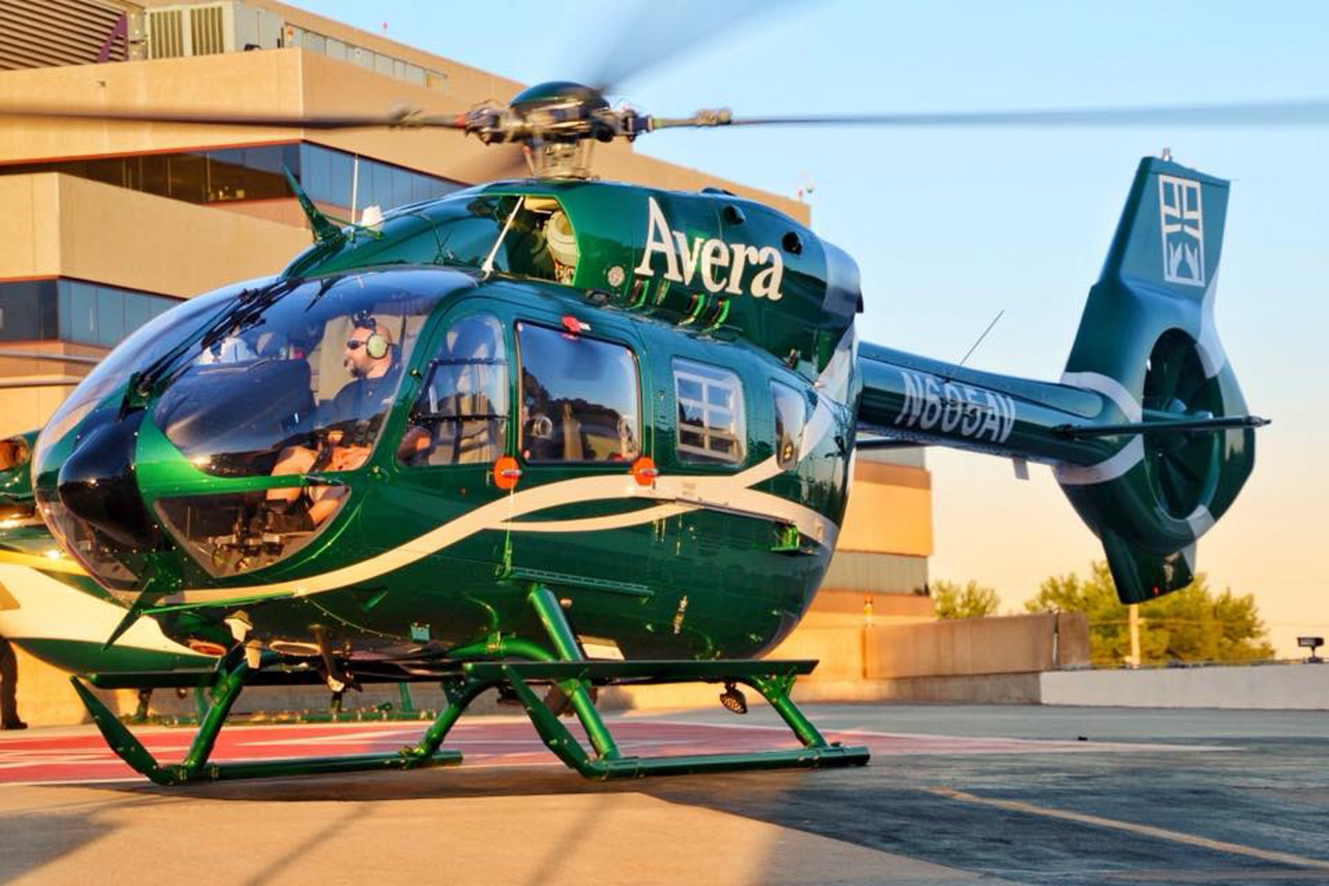 The featured H145 at the Air Medical Transport Conference (AMTC) on Oct. 22-24 in Phoenix, Arizona is the third aircraft from the proven H145 family to be operated by Avera McKennan Hospital and University Health Center, a South Dakota-based integrated health system offering the Careflight service.