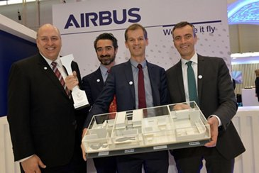 Airbus and Safran win Crystal Cabin Award at Aircraft Interiors Expo