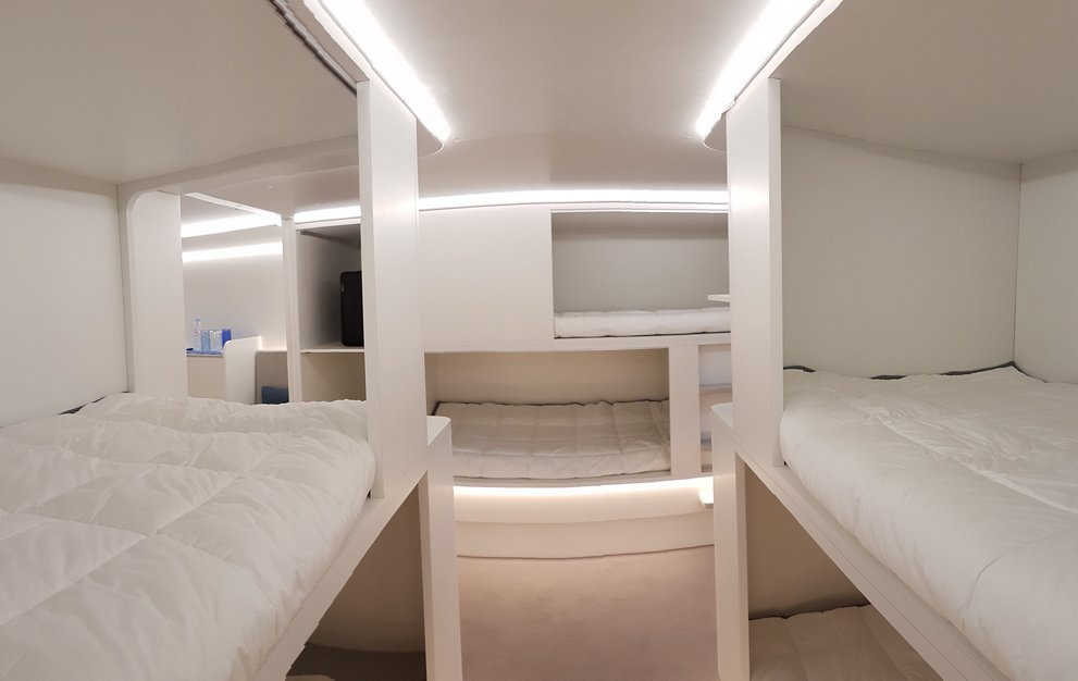 Airbus' innovative cabin