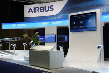 Euronaval 2018 – Airbus stand