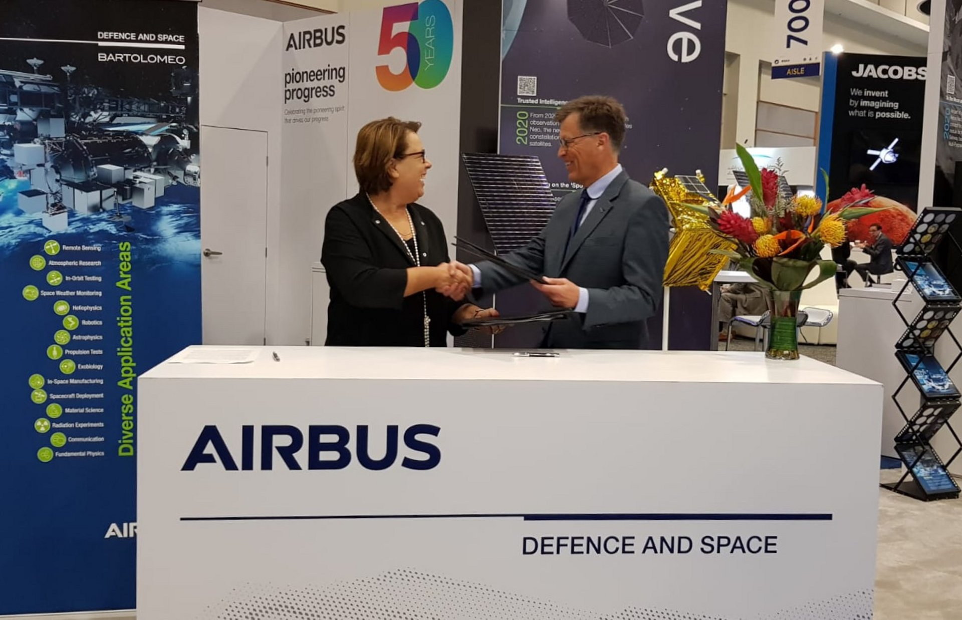 UNOOSA and Airbus announce opportunity for utilizing Airbus Bartolomeo platform