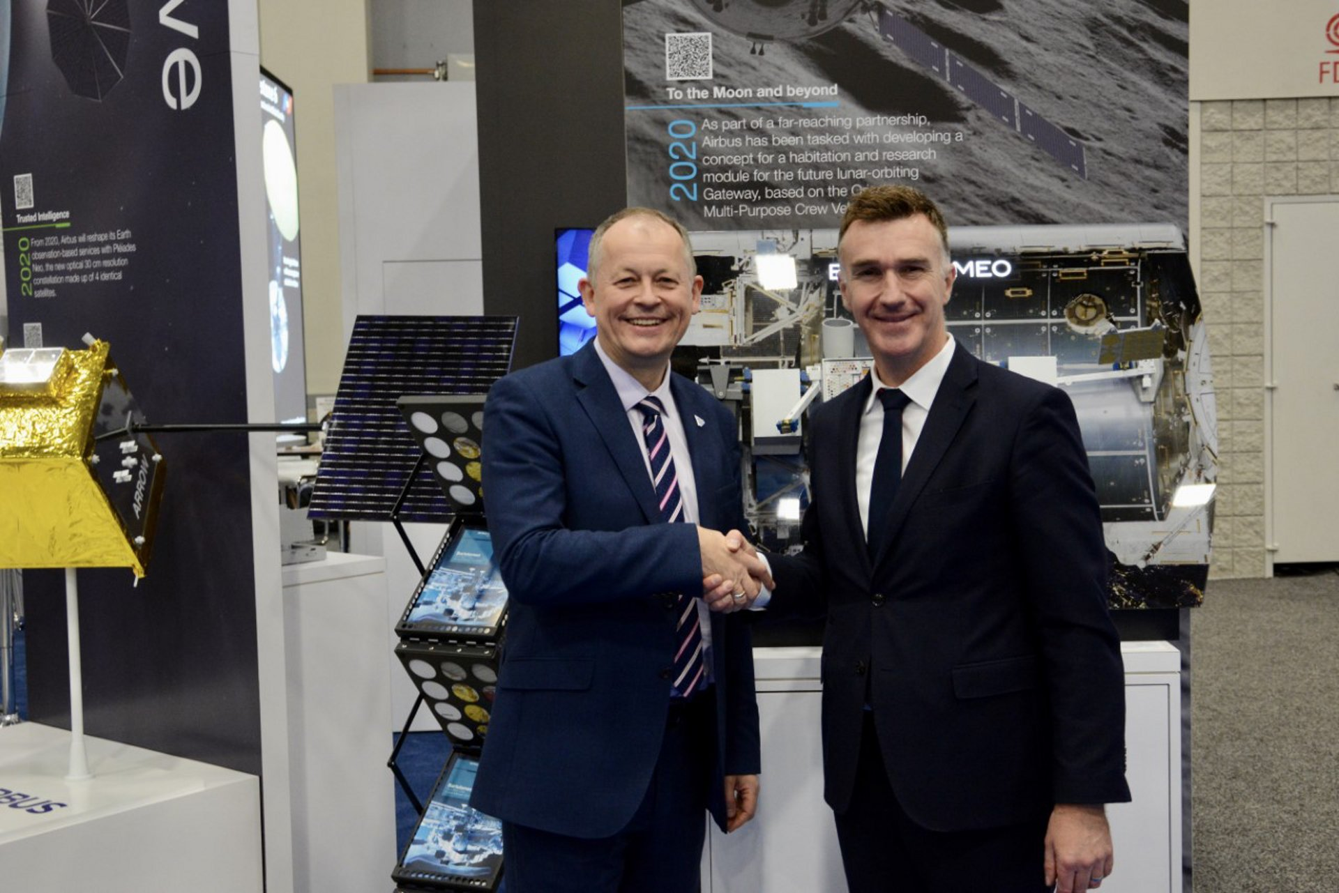 The European Space Agency (ESA) and Airbus Defence and Space today signed a Statement of Intent on their common interest to use the Bartolomeo external platform for a limited number of scientific missions on the International Space Station (ISS).