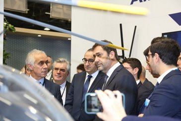 Christophe Castaner - French Minister of the Interior and Luc Boureau - Head of Sales France