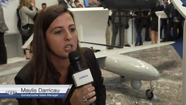 Interview Maylis Darricau - Survey Copter Sales Manager