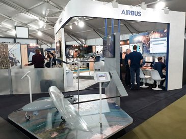 Airbus stand at SOFINS 2019
