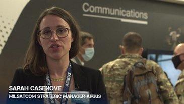 SOFINS 2021 Interview Sarah Casenove - Milsatcom Strategic Manager