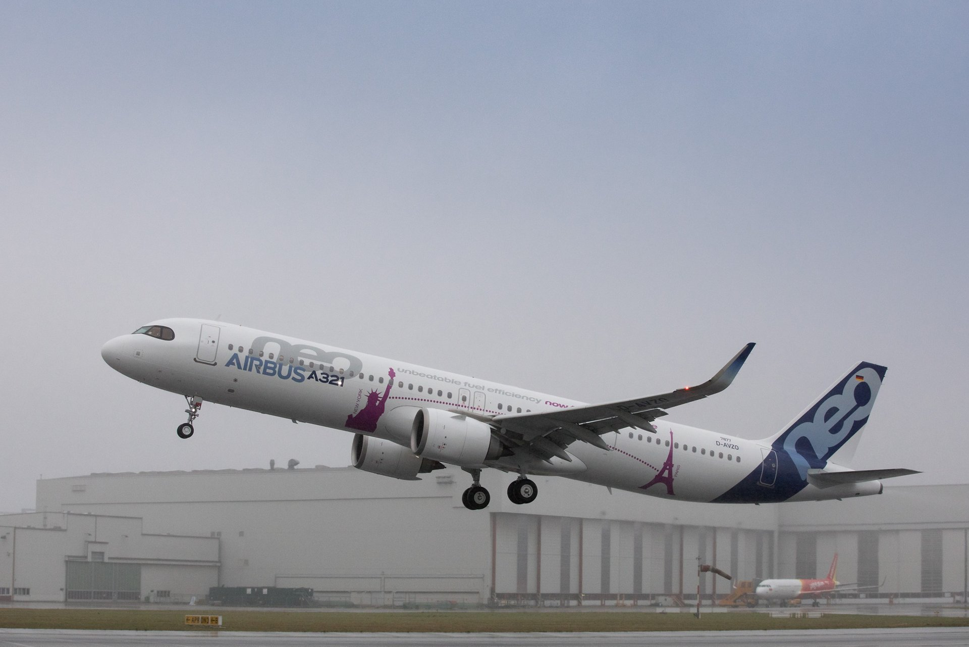 A321LR First Flight