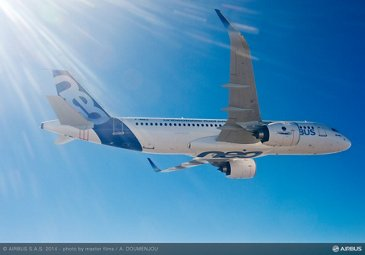 A320neo first flight air to air 3