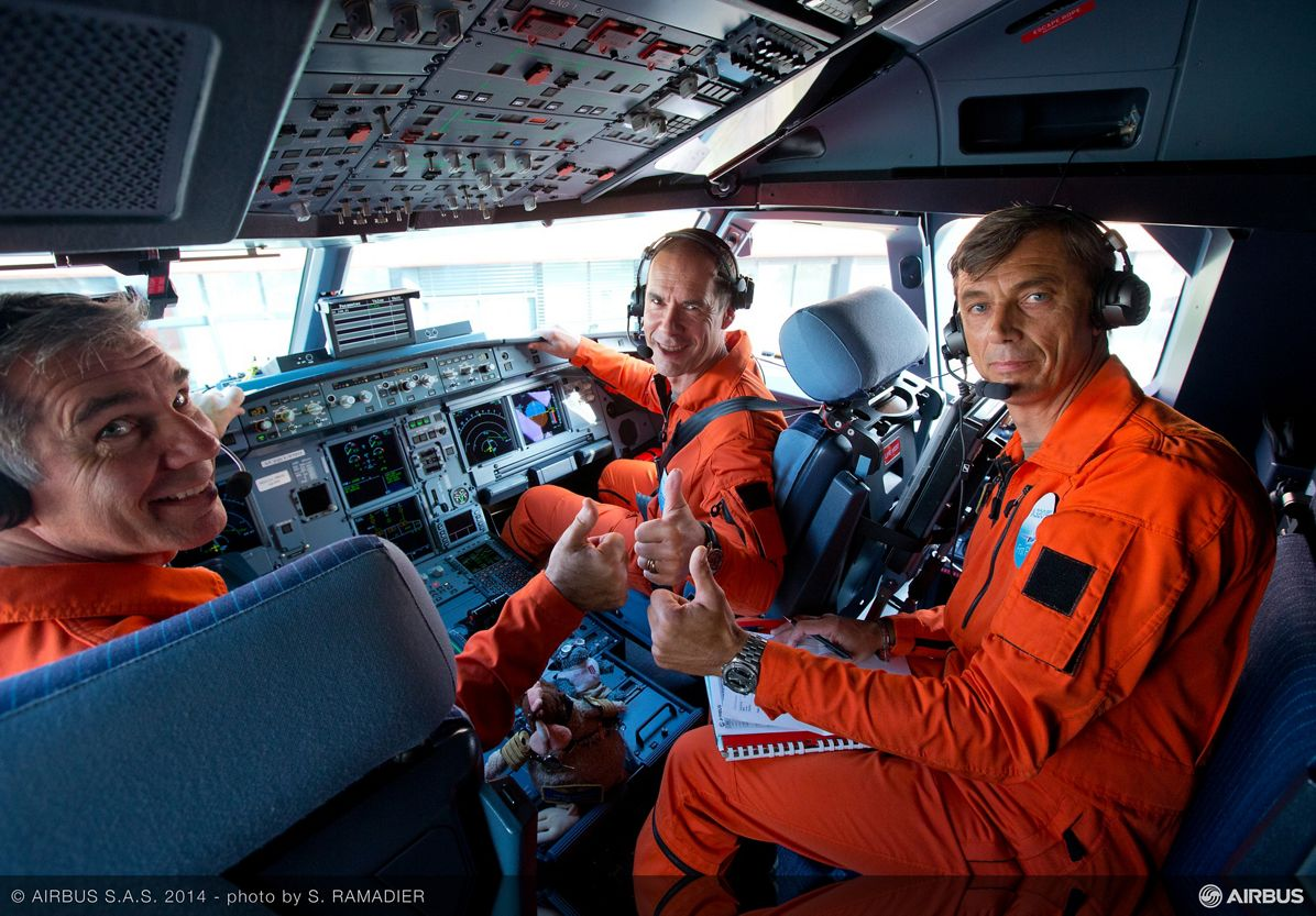 A320neo first flight preparation 3