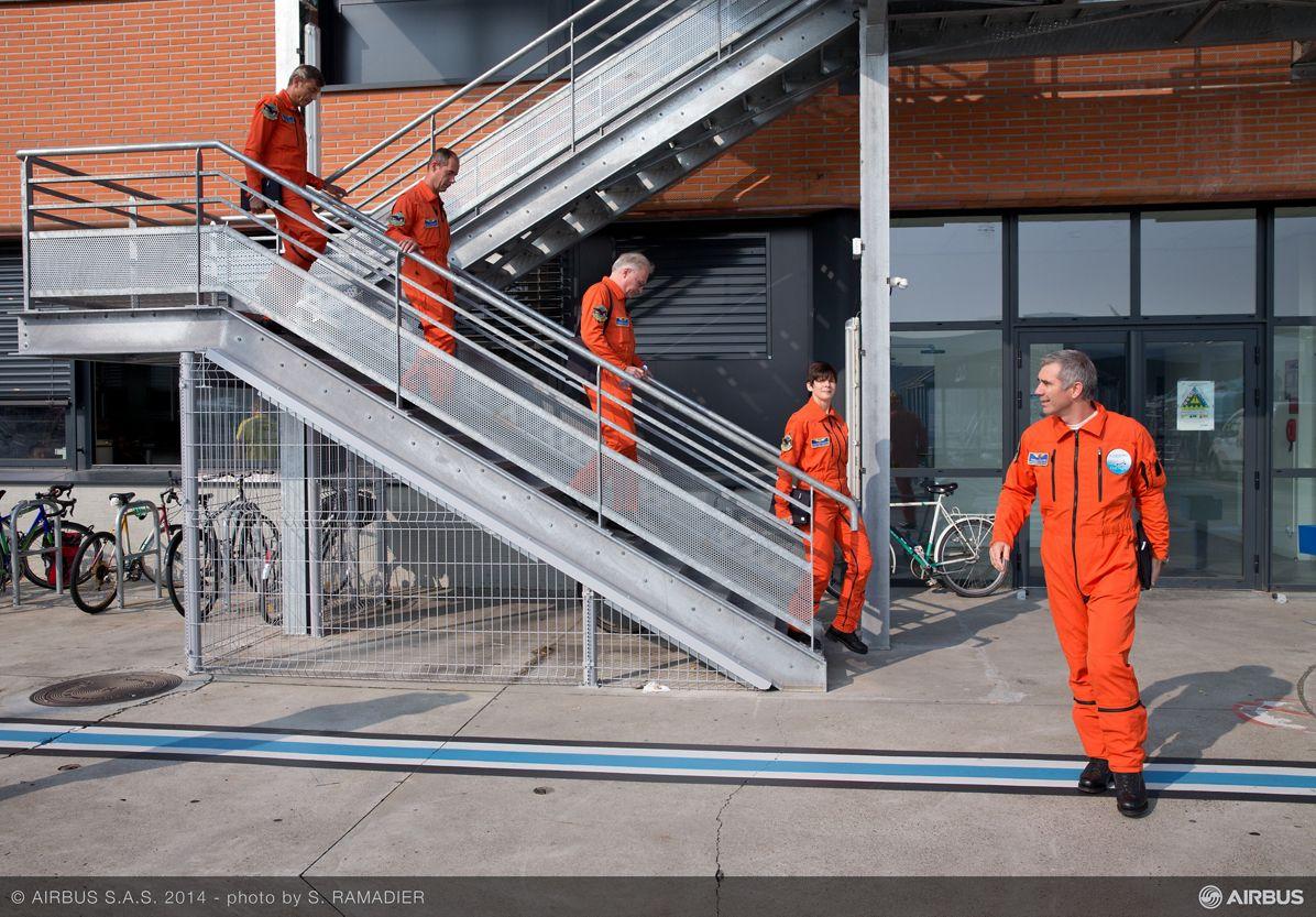 A320neo first flight preparation 5