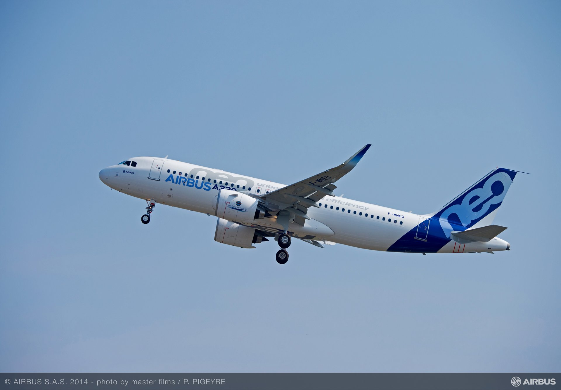 The 25 September 2014 A320neo first flight opens a new chapter in the successful history of Airbus' market-leading single-aisle product line