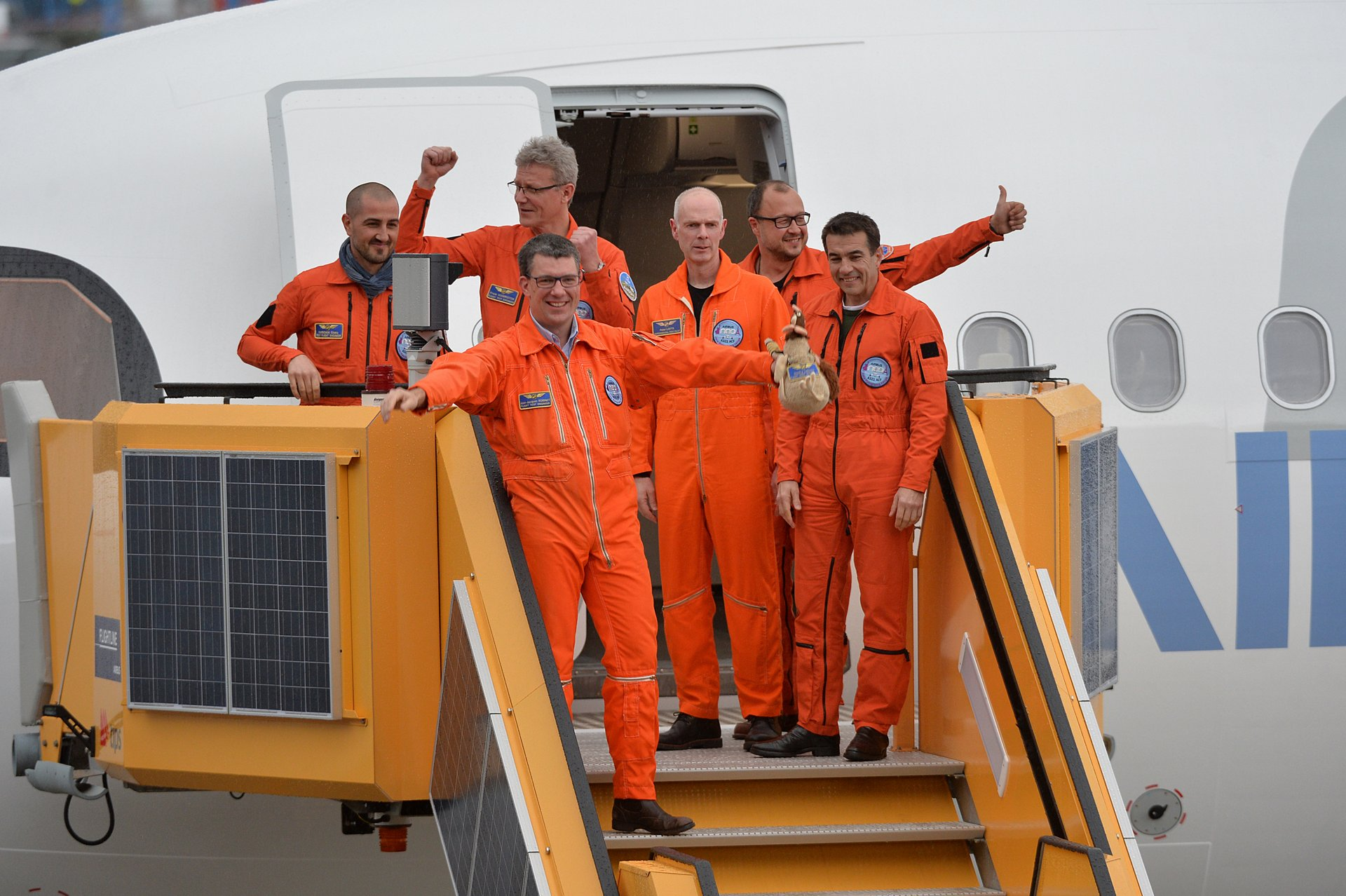 A321LR first-flight crew