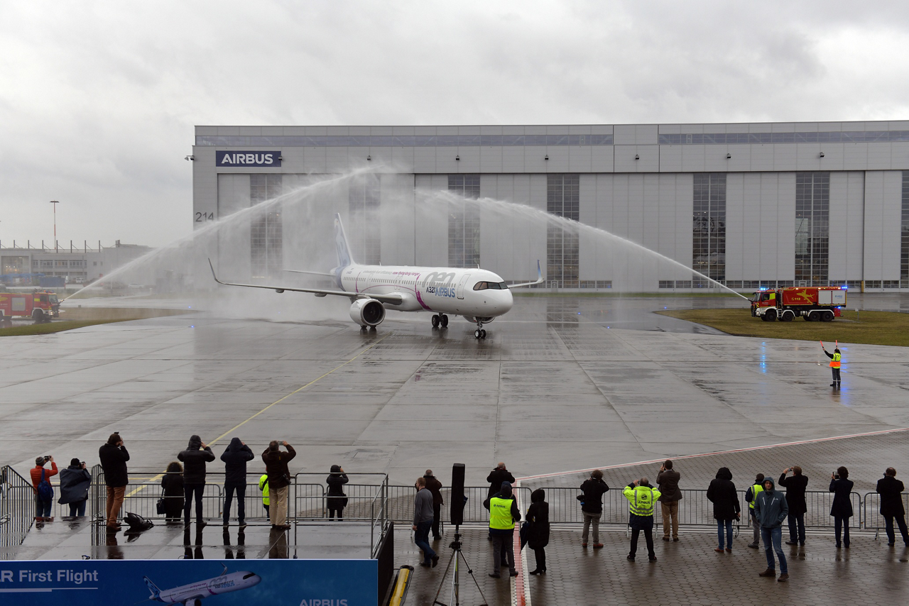 Airbus' newest single aisle aircraft adds range for transatlantic flight capability