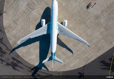 A330-800 on ground