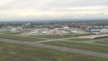 A330-800 First Flight Landing Broll